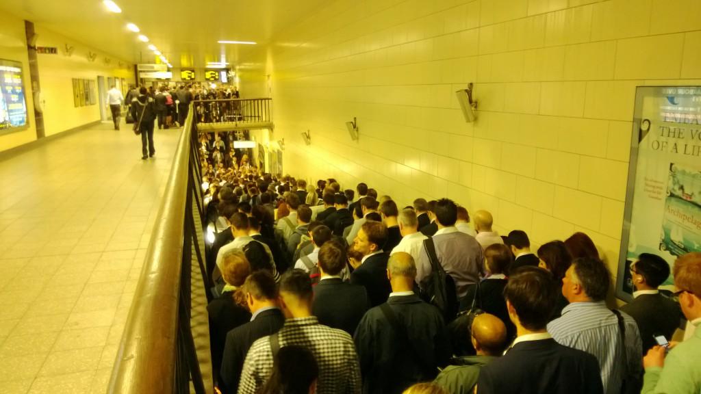 tube delays